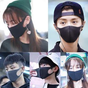 In Spugna della maschera di protezione della prova traspirante Bocca Mascherine riutilizzabile Anti Inquinamento Visiera vento copertina Maschera per il viso