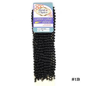 Afro Kinky cheveux bouclés Ombre Marlybob Crochet Tresses 6packs / Lot synthétique Crochet cheveux Weave Vague Tressage cheveux