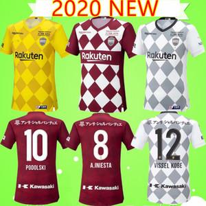 Vissel Kobe 2020/2021 Виссел футбольные майки разъема j1 лиги Японии А. Иньеста Огава Дуглас футбольную форму 2020 FURUHASHI KYOGO дома в гостях третий футбол рубашка