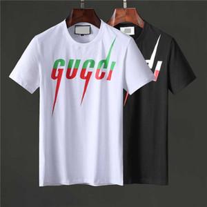Neue Marken-Kleidung-Sommer-T-Shirt beiläufige MenT-Shirt Kurzarm Medusa T-Shirt Teenager Hot Tops M-3XL