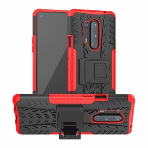Armure Phone Cases pour OnePlus 8 Pro Etui rigide souple TPU silicone hybride protection en caoutchouc Support OnePlus Nord Couverture