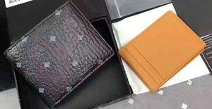 Alta calidad de la manera clásica coreana billetera de cuero. Breve estilo de los hombres y la caja de la tarjeta de crédito Las mujeres de gran capacidad