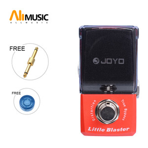 Joyo JF-303 Little Blaster Distortion Effect guitar pedal Ironman Mini Series Effect Pedal With gold connector and MOOER knob