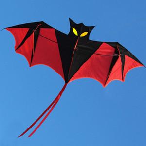 لعب الاطفال عالية الجودة 1.8 متر الأحمر بات قوة كايت الراتنج رود مع الطائرات الورقية مقبض والخط جيد الطائر