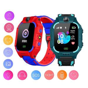 Q19 montre Smart Watch Kid LBS Positionnement Lacation SOS Caméra Smart Phone Montre Bébé Voice Chat Smartwatch pour Android IOS VS Q02 Q528