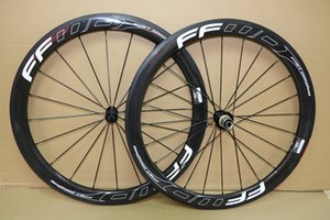 Carbon-Räder Super Light 50mm Tubular Clincher Tubeless 700C F5R Rennrad Carbon Laufrad mit R13 Licht Hub