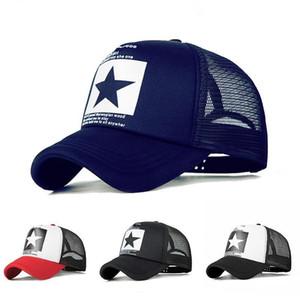 Hip Hop Mesh Baseball Cap per le donne gli uomini esterni Sport Estate Trucker Hat Bone regolabile Sun Baseball Cap Casquette papà Cappello poco costoso all'ingrosso
