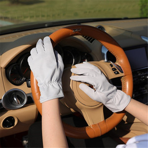 1 pair Le donne Guanti elastico guanti corti di design Sun-Shading protezione solare oversleeps guanti antiscivolo guida femminile Mittens