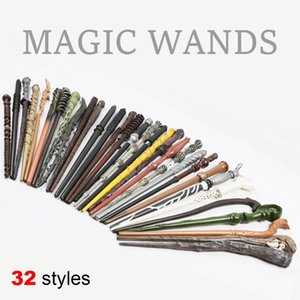 32 Styles Hogwarts Harry Potter Series Bacchetta magica The Elder Wand Movie Theme Cosplay Collezioni Regali