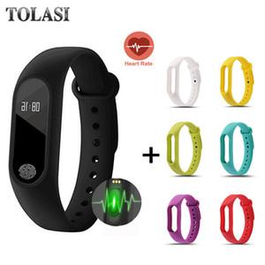 Men's Waterproof IP67 M2 Watch+Watchbands Fitness Heart Rate Monitor Blood Pressure Pedometer Bluetooth Smart Wristband