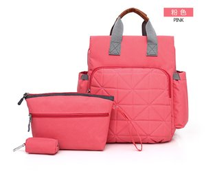 2018 New Large Waterproof Nylon Mommy Bag Female Three Piece Set Mother And Baby Bag To Go Out For Function Backpack Mam Bags