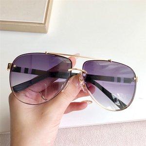 Occhiali da sole semplici per occhiali con metallo classico Best Style Case Telaio Vendita Protezione Designer Protezione Fashion Abbigliamento Generoso Pilota di alta qualità UV400 HFVW