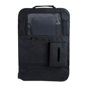 New Auto Car Seat Back Multi- Storage Bag Organizer Holder Accessory Black