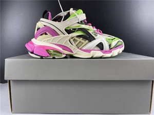 con scatola 2020 maschile e femminile per Scarpe Uomo Pista sportiva 2.0 Colore Bianco Rosa Verde Euro 36-45