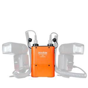 Freeshipping PB960 Power Power Battery Pack (أسود أو برتقالي) 4500mAh + كابل الطاقة CX for Canon Speedlite