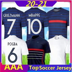 France jersey 2020 2021 maillots de football Shirts maillot equipe de men kids kit soccer jerseys GRIEZMANN maillot de foot