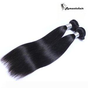 Virgin Brazilian Hair Malaysian Peruvian Cambodian Indian Unprocessed Straight Human Hair Bundles 9A Best Quality Hair Weave