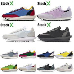 Nike Sacai LDV Waffle Zapatillas de running para Hombre Mujer negro blanco gris pino Verde Gusto Varsity Blue zapatillas de deporte para hombre zapatillas deportivas Tamaño 36-45