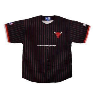Cheap Custom custom Vtg Rare Pinstripe blank Starter Baseball Jersey Mens Retro Mens XS-6XL Stitched basketball jerseys Ncaa