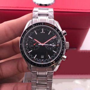 2020 domineering triple luxury men's watch 316 stainless steel case automatic mechanical folding buckle 42 mm stainless steel strap belt