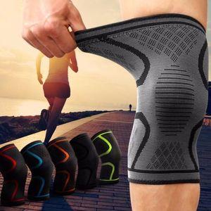 1pc Kompression Knie-Klammer-Hülsen-Stützbandage Laufsport Patella Verletzung Knee Protect