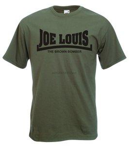 Bomber Joe Louis The Brown - t-shirt lenda do boxe Heavyweight Champ Icon (1)