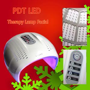 Складная 4 СИД цвета лица Лечение Photon Therapy Маска PDT омоложения кожи лица машина красоты LED Light Therapy
