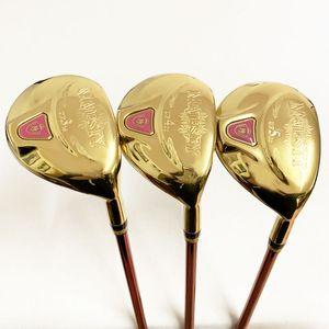 Femmes Golf bois hybride Maruman majesté clubs de bois Golf UF2 / 16 UF3 / 19 UF4 / 22 UF5 / 25 Golf Graphite flex headcover L
