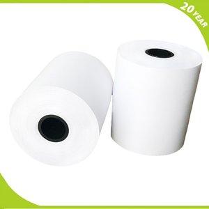 Punto de venta de la fábrica hasta el papel térmico del dispensador del boleto de los rollos 80mmx80mmx52m Fabricantes
