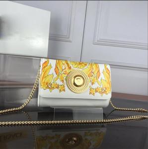 Borse gialle del progettista del partito del night-club delle borse cosmetiche delle donne del telefono cellulare delle borse di stampa gialle Trasporto libero