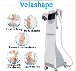2020 mejor máquina de conformación Velashape Body piel del cuerpo de adelgazamiento RF cara Infrard Laser elevador por vacío velashape RF máquina de apriete