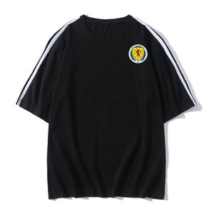 2020 Scotland Soccer T-shirt Soccer Jerseys Short Sleeves T-shirt summer Sports Soccer training T-Shirts jerseys Football Men's T-Shirts