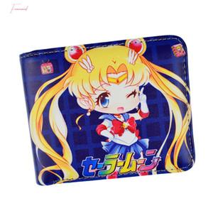 Pu Couro Anime Carteiras Sailor Moon Himouto Umaru Chan Cardcaptor Sakura Curto Carteira Com Coin bolso