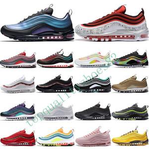 Nike Air Max 97 Airmax 97s 2020 buharı Tn 97 Gerileme Gelecek Aktif Kadınlar Erkek Koşu Ayakkabı Jayson Tatum 97S Tasarımcı Erkekler Sneakers Trainers maxes Boyut 36-46