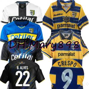 1998 1999 2000 Parma CRESPO fútbol Jersey retro 2019 2020 SPAGNOLO Gervinho KARAMOH camiseta de fútbol AMOROSO F.CANNAVARO THURAM antigua maillot