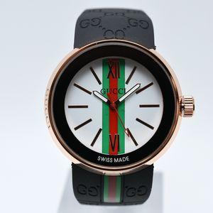 В продаже 40 мм кварцевый силиконовый ремешок аналоговые роскошные мужские дизайнерские часы дропшиппинг причинное платье мужские часы бесплатная доставка подарки мужские наручные часы