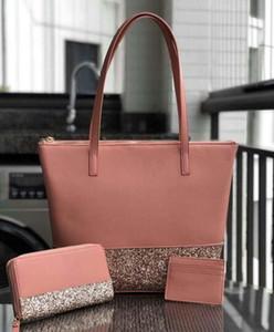 Glitter Crossbody Bag Handbags sacolas + carteira + titular do cartão define glitter família tote mini crossbodys