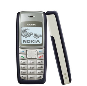 Débloqué Nokia 1110 Réformé Téléphone mobile 4 couleurs bi-bande GSM 900/1800 Mobile