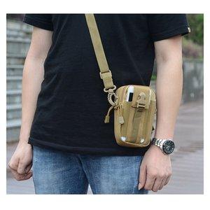 Tattiche Uomini Outing Vertical design mimetico colore Marsupio Oxford nylon impermeabile zaino monospalla multi-pocket Storage Bag