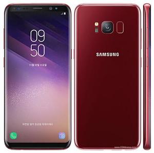 Samsung galaxy originale S8 / S8 plus Octa Core 4 GB RAM 64 GB ROM Scansione Iris Face Recognition Fingerprint 12.0MP 4G LTE telefono rinnovato