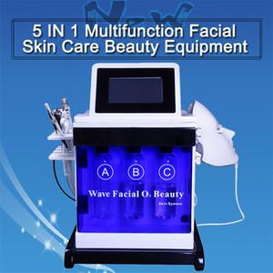 얼굴 기계 산소 스프레이 리프팅 수력 박피술 얼굴 기계 히드라 껍질 피부 관리 얼굴 청소 아름다움 기계 바이오