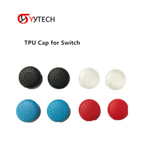 SYYTECH New TPU Protective Thumb Stick Grips Cover Controller Crystal Protective Cap For Nintendo Switch Joy-Con