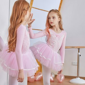 ballet dress Girls ballet tutu long sleeve dance dress leotards for girls child costume for dancing performance costume