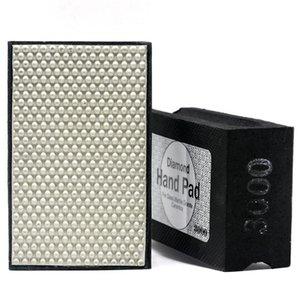 DC-RHPP3000 90 * 55mm pad mano de resina de pulido # 3000 de piedra de pulir baldosas de cerámica almohadillas abrasivas