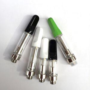 .5ml 1,0 ml Vape cartucce imballaggio TH205 / TH210 bobina ceramica olio atomizzatore Shatter vaporizzatore per Thick olio tubo pp Imballaggio