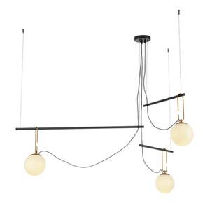 Moderne Creative Glass Round Linie Pendelleuchte Showroom Home Decor Art Kronleuchter Leuchte Decke PA0687