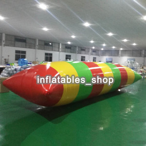 Free Shipping Door To Door 5x2m 0.9mm PVC Water Jumping Pillow Inflatable Water Trampoline Inflatable Water Blob For Sale