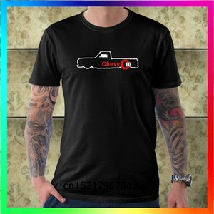 Hombres camiseta Chevy C10 Truck Logo One Side camiseta camiseta divertida camiseta de la novedad mujeres