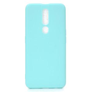 Copertura di colore della caramella per OPPO F9 Custodia morbida TPU Custodia di telefono ultrasottile Cases Capinha per OPPO F11 Pro