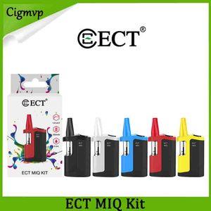 Original ECT MIQ Vape Mod Kits E-Cigarettes Mods 350mah Vaporizer Pen Voltage Adjustable Preheat Battery 3.3V-3.6V-4V Starter Kit